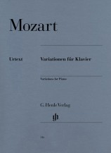 (Mozart) Variations for Piano