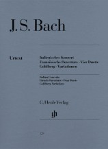 (Bach)Italian Concerto, French Overture, Four Duets, Goldberg Variations