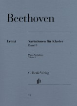 (Beethoven) Variations for Piano, Volume I