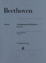 (Beethoven) Variations for Piano, Volume II