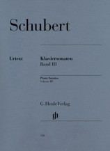 (Schubert) Piano Sonatas, Volume III (Early and Unfinished Sonatas)