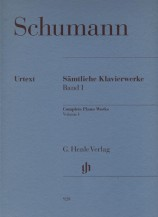 (Schumann) Piano Works, Volume I