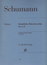 (Schumann) Piano Works, Volume II