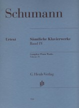 (Schumann) Piano Works, Volume Ⅳ