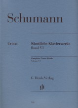 (Schumann) Piano Works, Volume Ⅵ