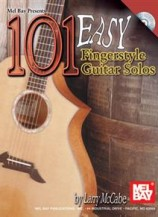 101 Easy Fingerstyle Guitar Solos (Book/CD Set)
